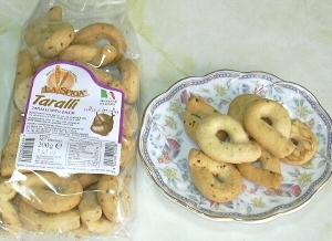 イタリアのスナックパン、【タラ...